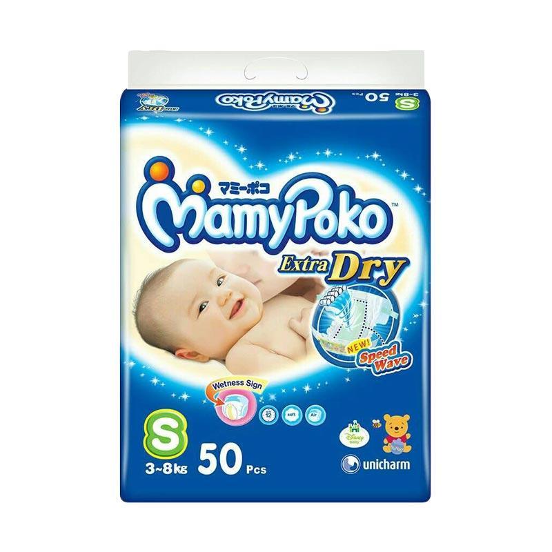 MamyPoko Tape Extra Dry Popok Bayi [Size S/50 pcs]