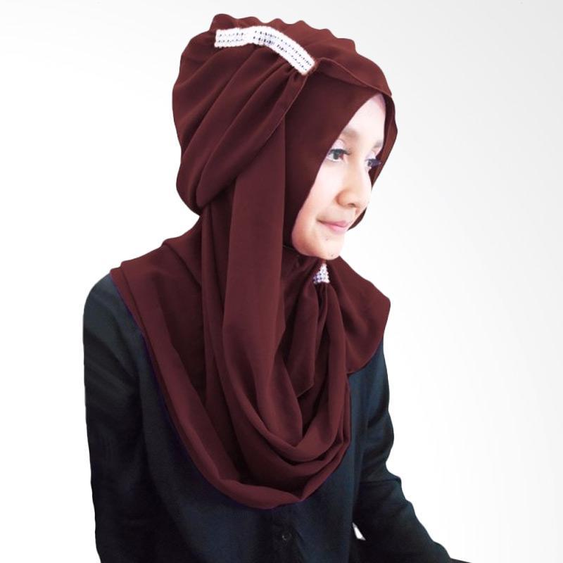 Milyarda Ring Hijab - Coklat