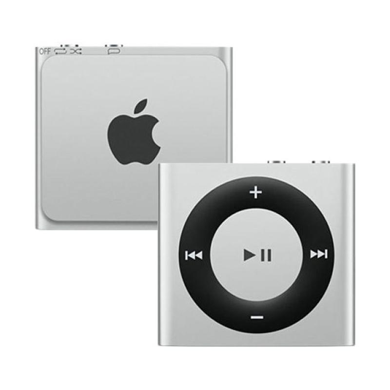 harga Apple iPod Shuffle MKMG2 Portable Player - Silver [2 GB] Blibli.com