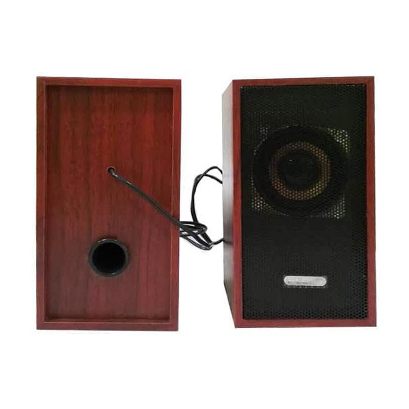Fleco F 016 PM Wooden Mini USB Speaker