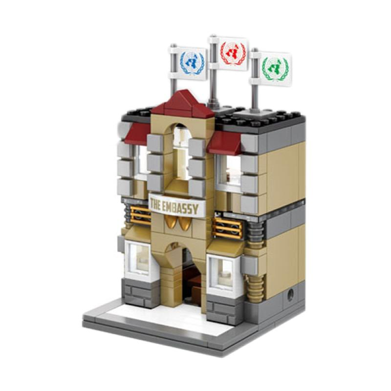 Sembo SD6517 The Embassy Mini Blocks