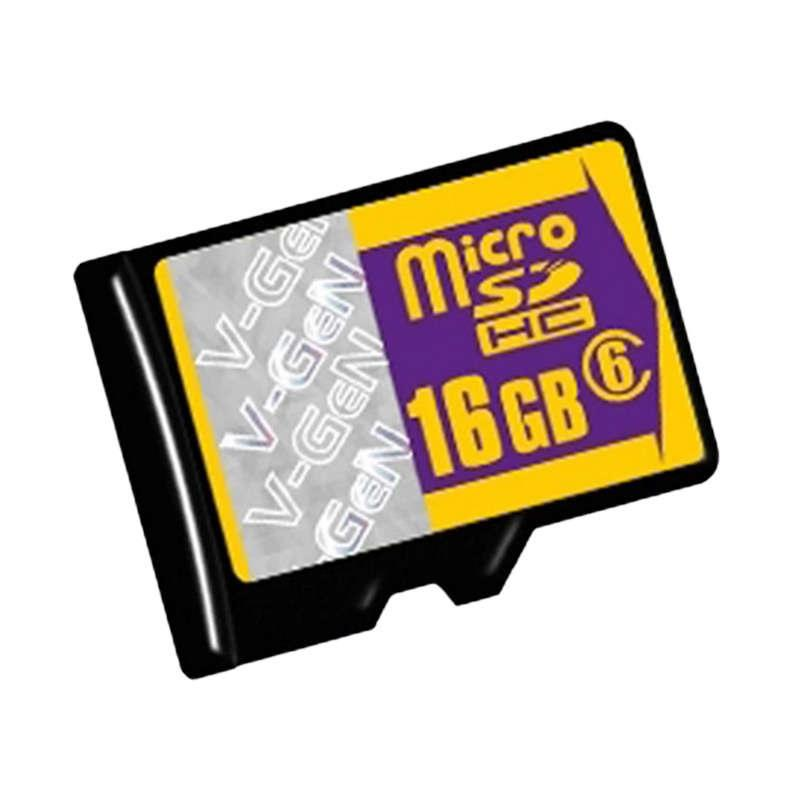 V-GEN Class 6 MicroSD Memory Card [16 GB]