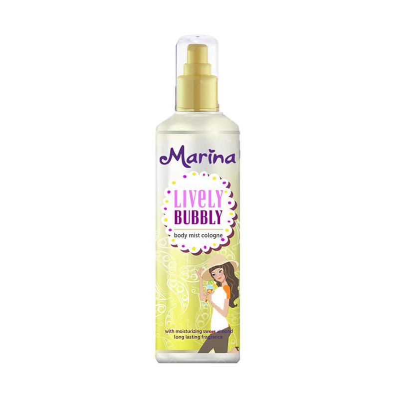 Marina Lively Bubbly Body Mist [100 mL/ isi 2 pcs]