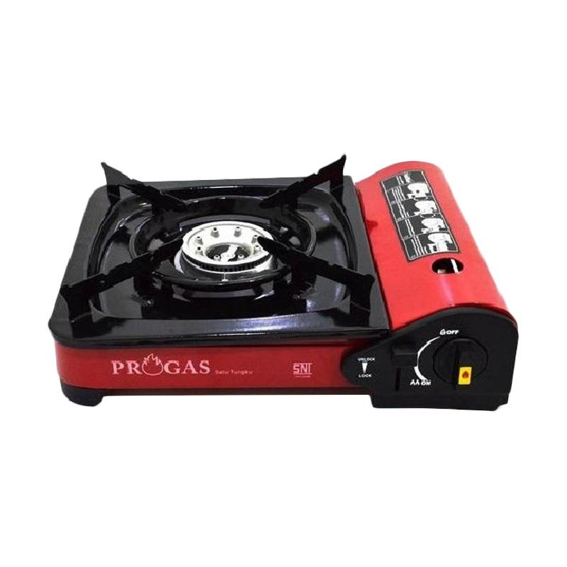 Progas 2 in 1 Kompor Gas Portable Red