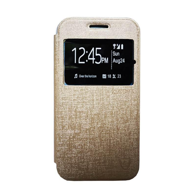 ZAGBOX Flip Cover Casing for iPhone 7 4.7 - Gold