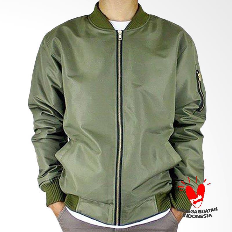 FG Clothing Jaket Bomber Pria