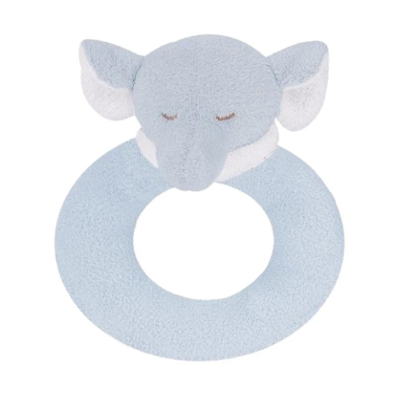 Angel Dear Ring Rattle Mainan Anak - Elephant