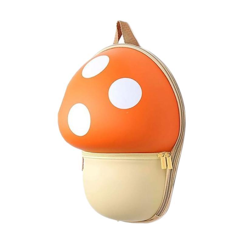 J&J Kids Mushroom Backpack - Orange