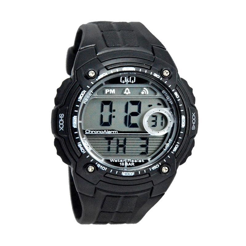 Q&Q Waterproof D48H170M075J001YHTM Digital Jam Tangan Pria