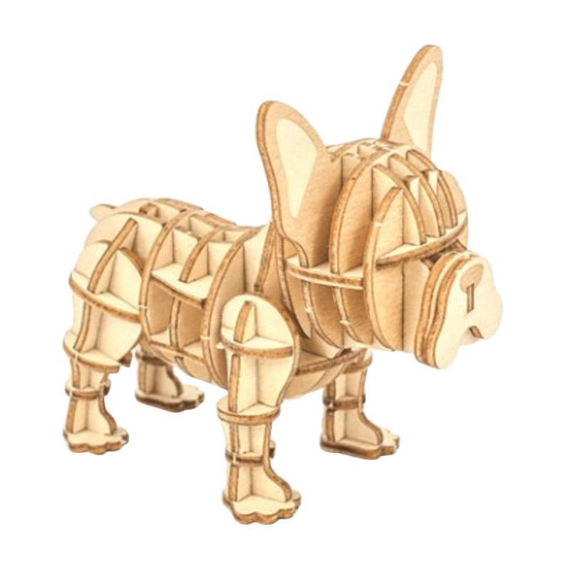 Kigumi French Bulldog 3D Puzzle