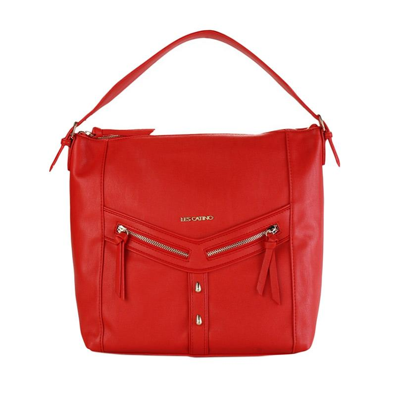 Les Catino Marciani Hobo Bag - Red