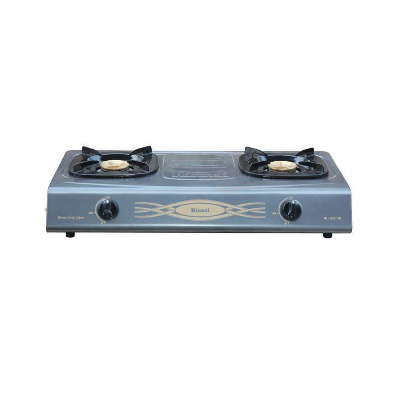 Rinnai RI-522CE Kompor Gas [2 Tungku]