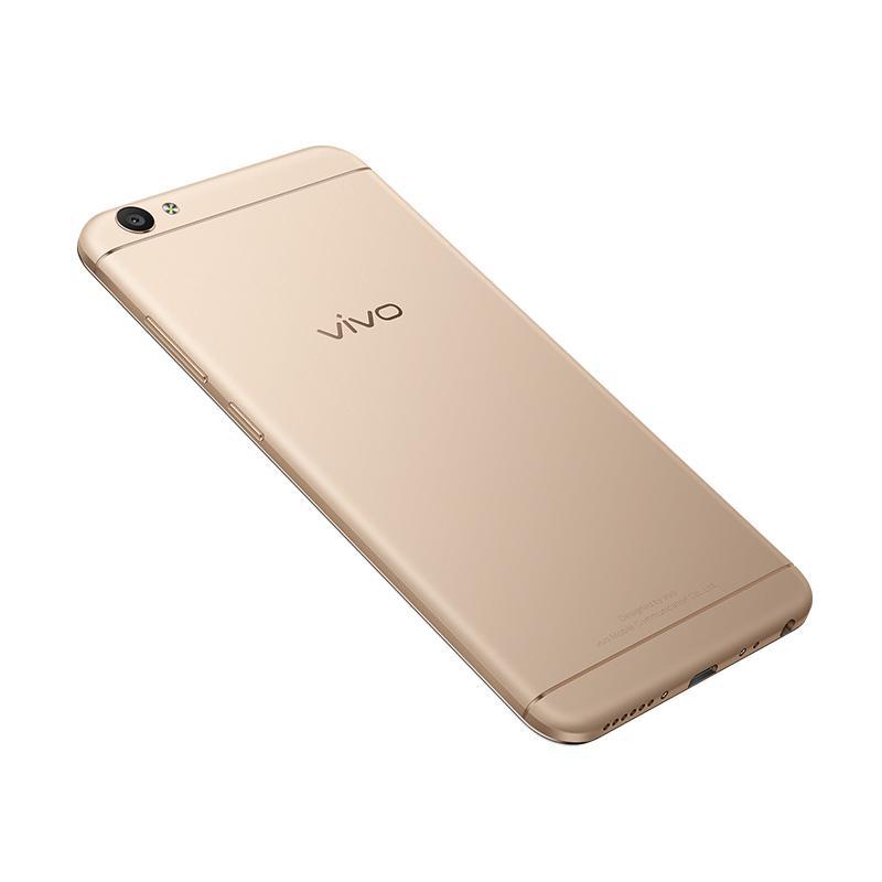 VIVO V5 Smartphone - Gold [32 GB/4 GB RAM] Free Micro sd 16 GB - 9281395 , 15438081 , 337_15438081 , 3499000 , VIVO-V5-Smartphone-Gold-32-GB-4-GB-RAM-Free-Micro-sd-16-GB-337_15438081 , blibli.com , VIVO V5 Smartphone - Gold [32 GB/4 GB RAM] Free Micro sd 16 GB