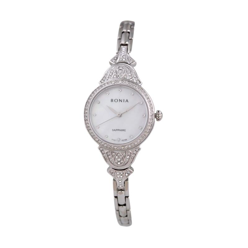 Bonia - Jam Tangan Wanita - B10166-2357S - Silver