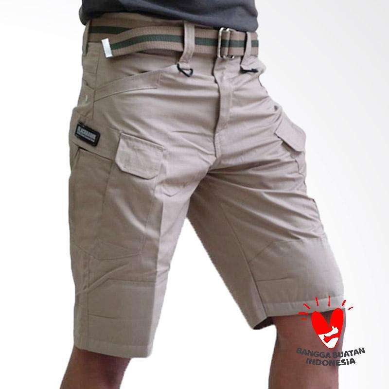 Tactical Black Hawk Celana Pendek Pria - Cream