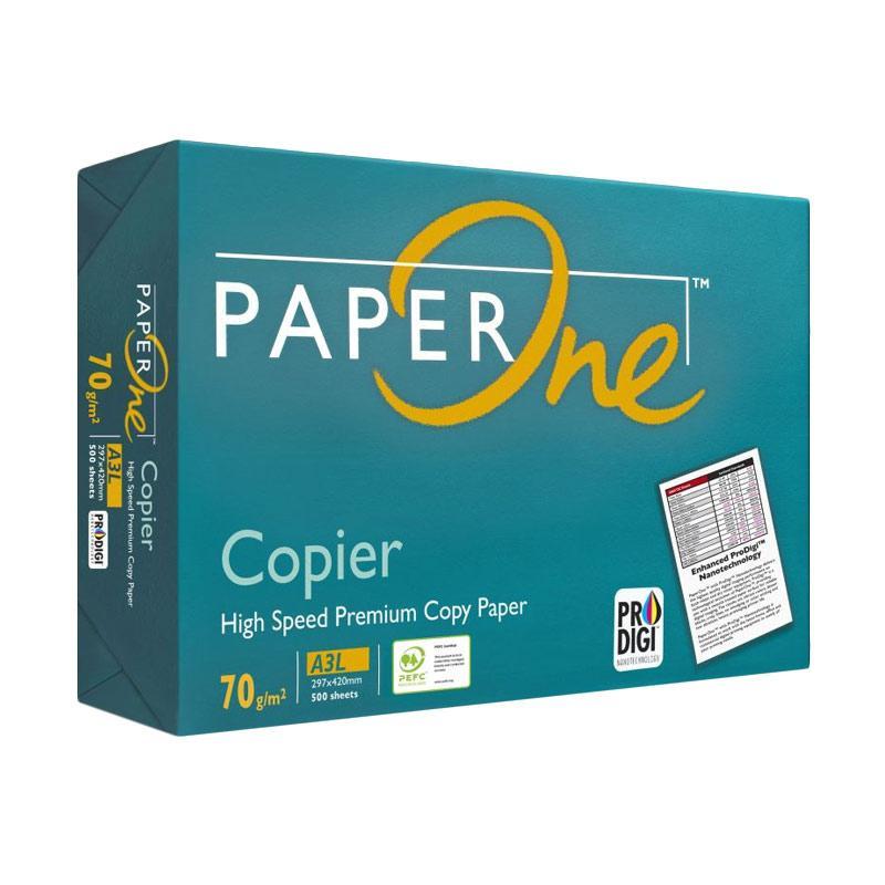 Paper One A3 Kertas Fotokopi [70 g/m2]