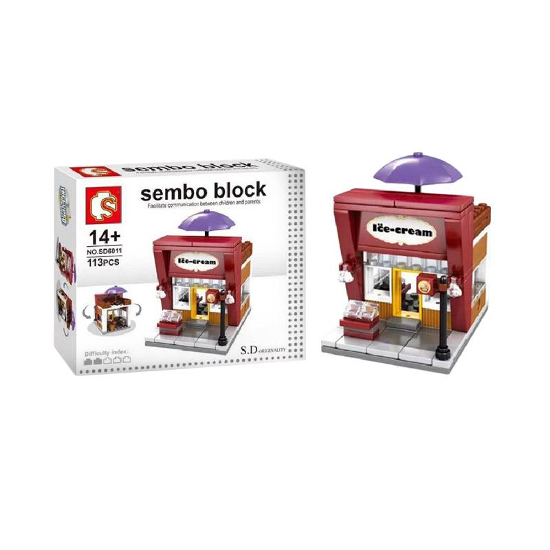 Sembo SD6011 Ice Cream Shop Mini Blocks