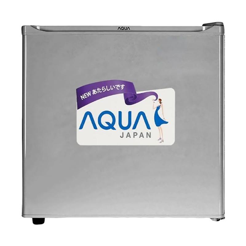 harga Aqua AQR-D50 F Kulkas Portable [1 Pintu] Blibli.com