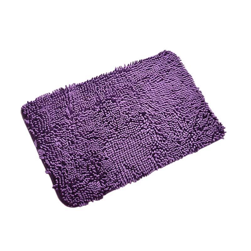 Best Microfiber Keset Kaki - Ungu [40 x 60 cm]