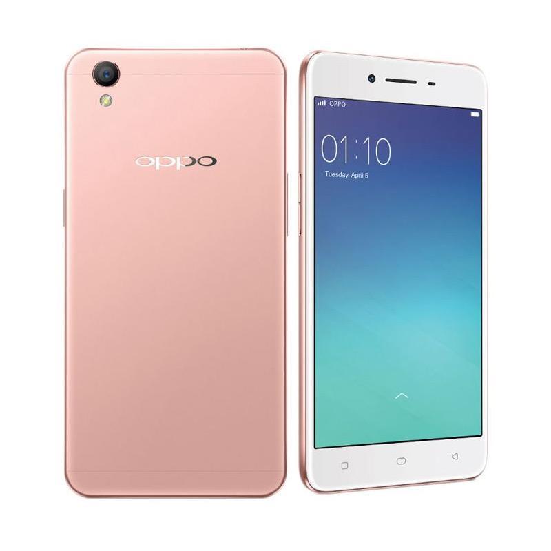 Oppo A37 Smartphone - Rosegold [16GB/ 2GB]