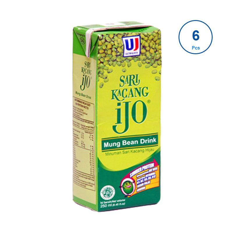 Ultra Jaya Sari Kacang Ijo [250 mL/ 6 pcs]