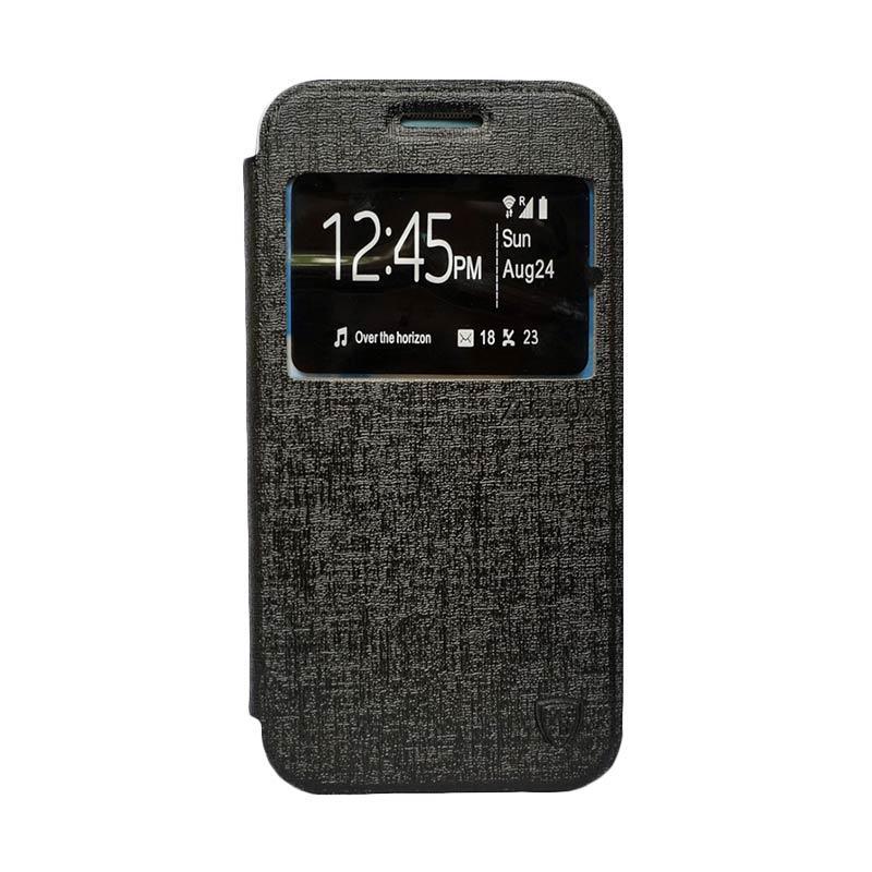 Zagbox Flip Cover Casing for Nokia N225 - Hitam