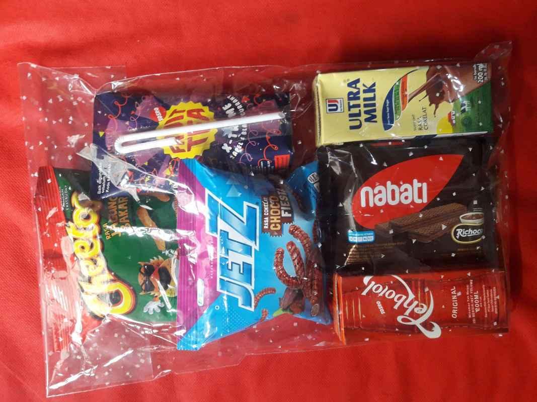 Paket bingkisan snack ULANG TAHUN Paket A