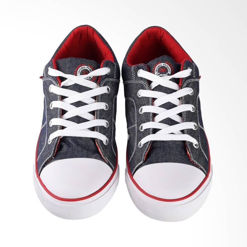 Carvil Canvas Mens Shoes Sepatu Casual Pria - Denim Roller-M