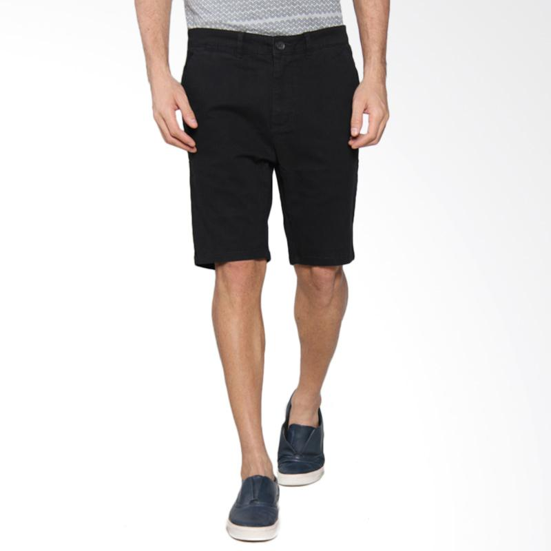 Greenlight Men Relaxed Short Pants - Black [206051714]