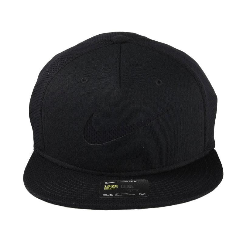 b46c653915c ... sale snapback hat nike u nsw true cap blue lbl ssnl topi black 828578  013 80c86