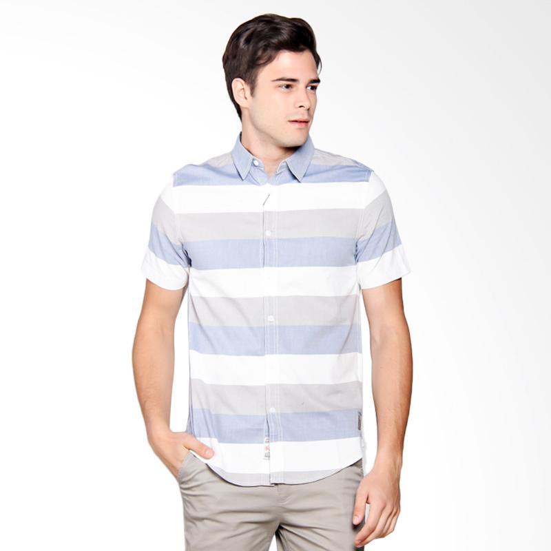3SECOND Shirt Pria - Blue 102051711