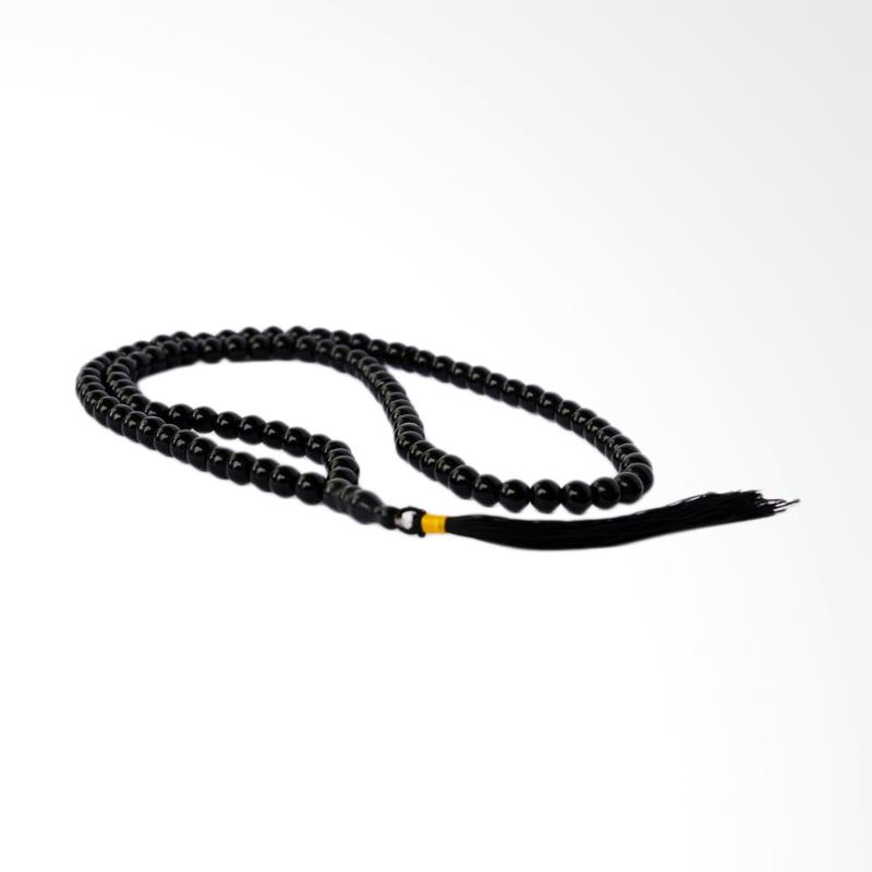 harga Riza Craft Batu Alam Black Onyx Akik Natural Tasbih [99 Butir] Blibli.com