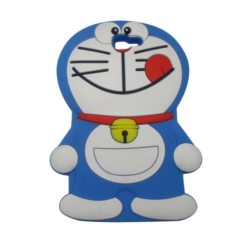 OEM 3D Karakter Kartun Doraemon Softcase Casing for Samsung Galaxy J7 Prime
