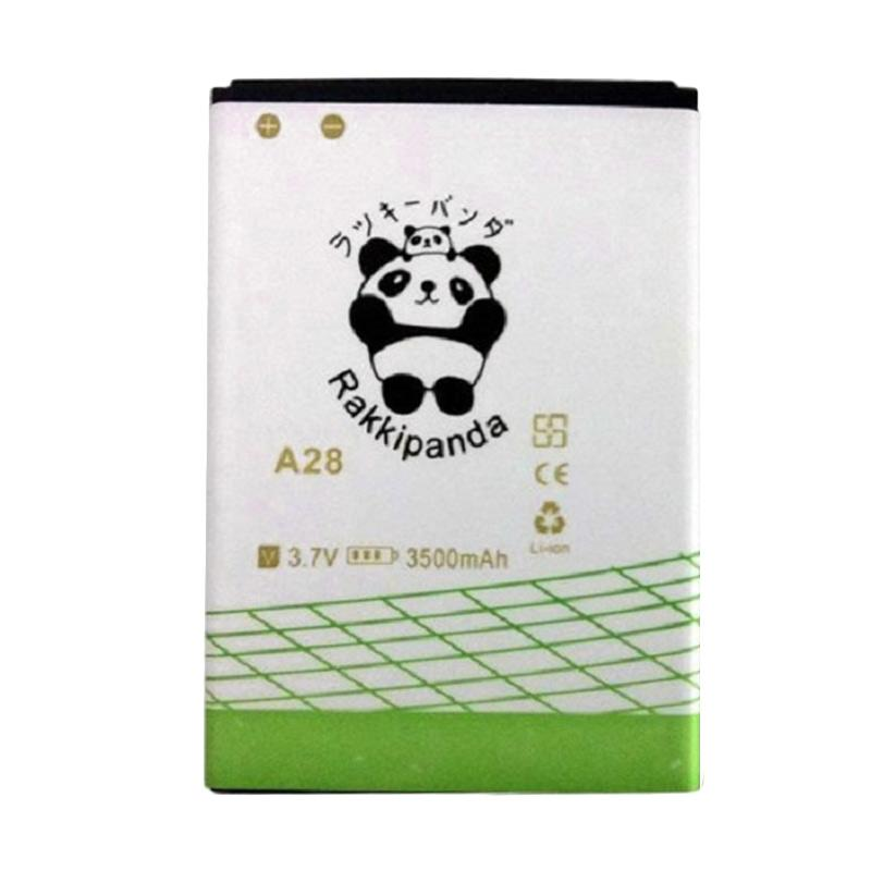 RAKKIPANDA Baterai Double Power IC for EVERCOSS A28T