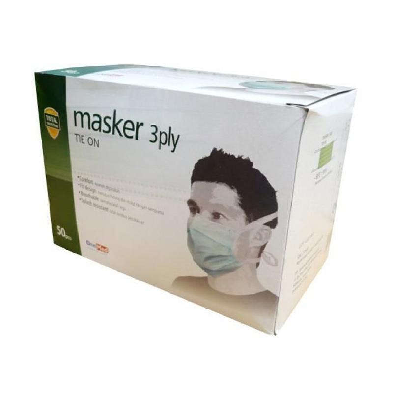 OneMed Masker Tali - Hijau
