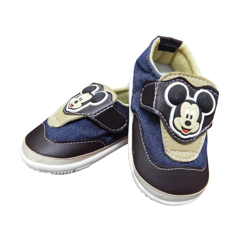 Disney MC-BBA08 Baby Shoes Jeans Sepatu Anak - Cream
