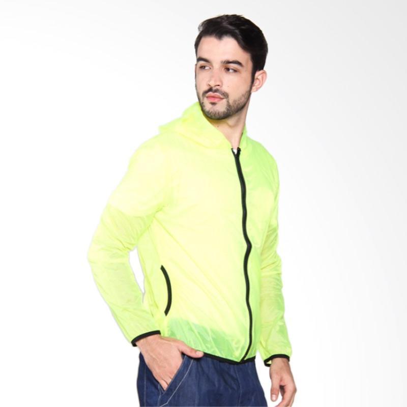 ZcoLand Warna Jaket Transparan - Green