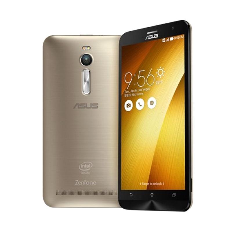 Asus Zenfone 2 ZE551ML Smartphone - Gold [32GB/ 4GB/ 1.8 GHz]
