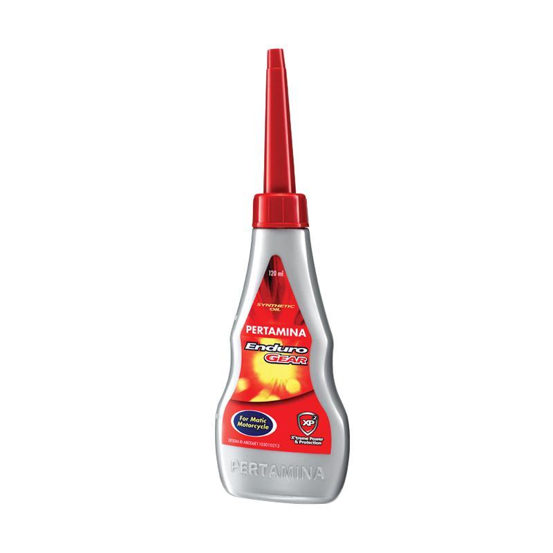 Pertamina Enduro Oli Gear Motor Matic [120 mL/Gratis Pengiriman]