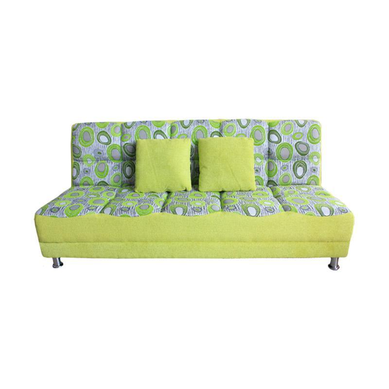 Best Furniture Wellington's Vituse Sofa Bed - Hijau
