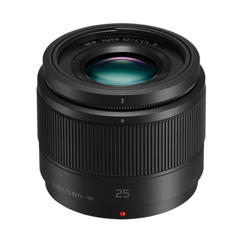 Panasonic Lensa 25mm f/1.7 ASPH