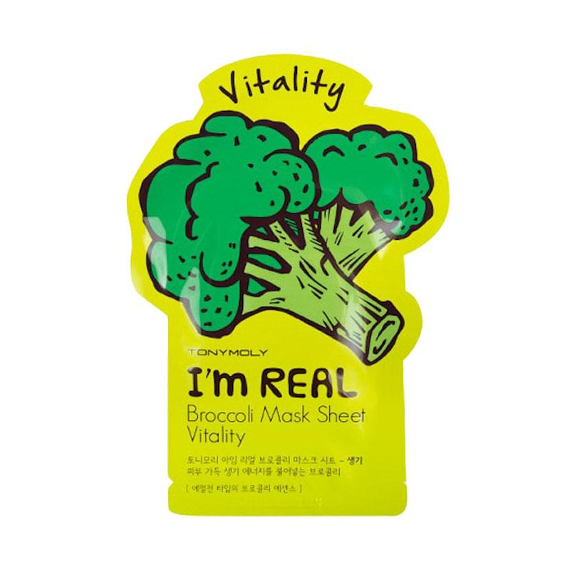 Tony Moly I`m Real Broccoli Vitality Mask Sheet
