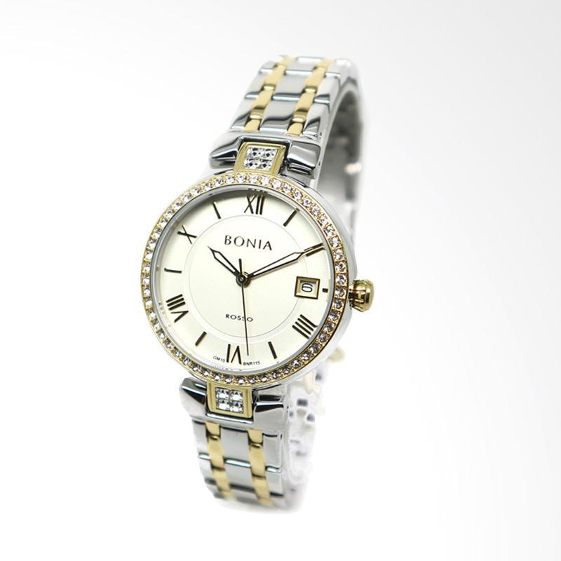 Bonia BNR115-2113S Jam Tangan Wanita - Silver