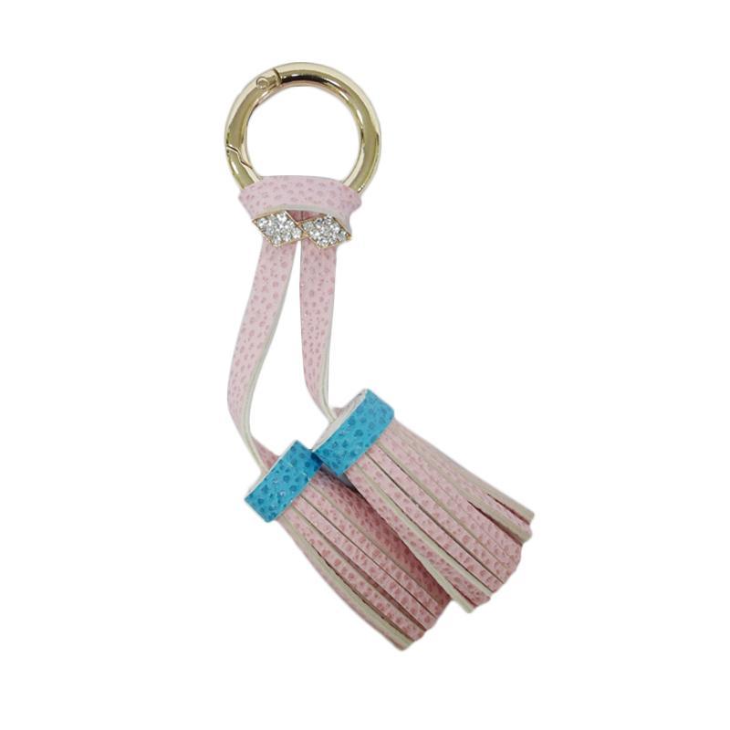 SIV Rumbai plus Manik Keychain Gantungan Kunci - Pink [KD03]