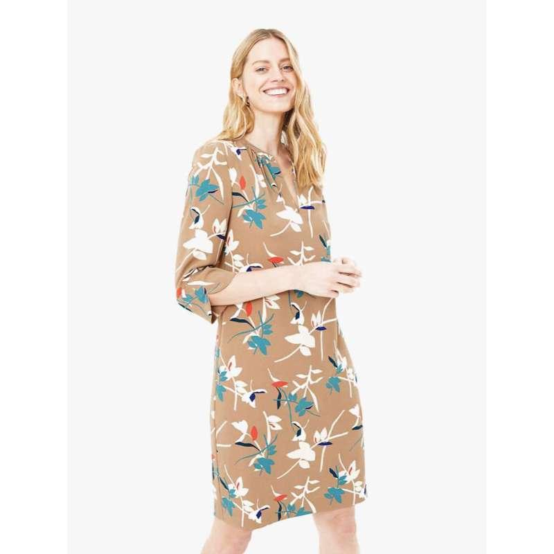 harga MARKS & SPENCER - Midi Dress - Crepe Floral Shift Dress Blibli.com