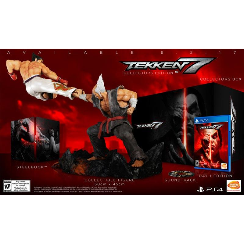 Jual Sony Playstation 4 Tekken 7 Collector Edition Dvd Box Set With Action Figures Murah Agustus 2020 Blibli Com