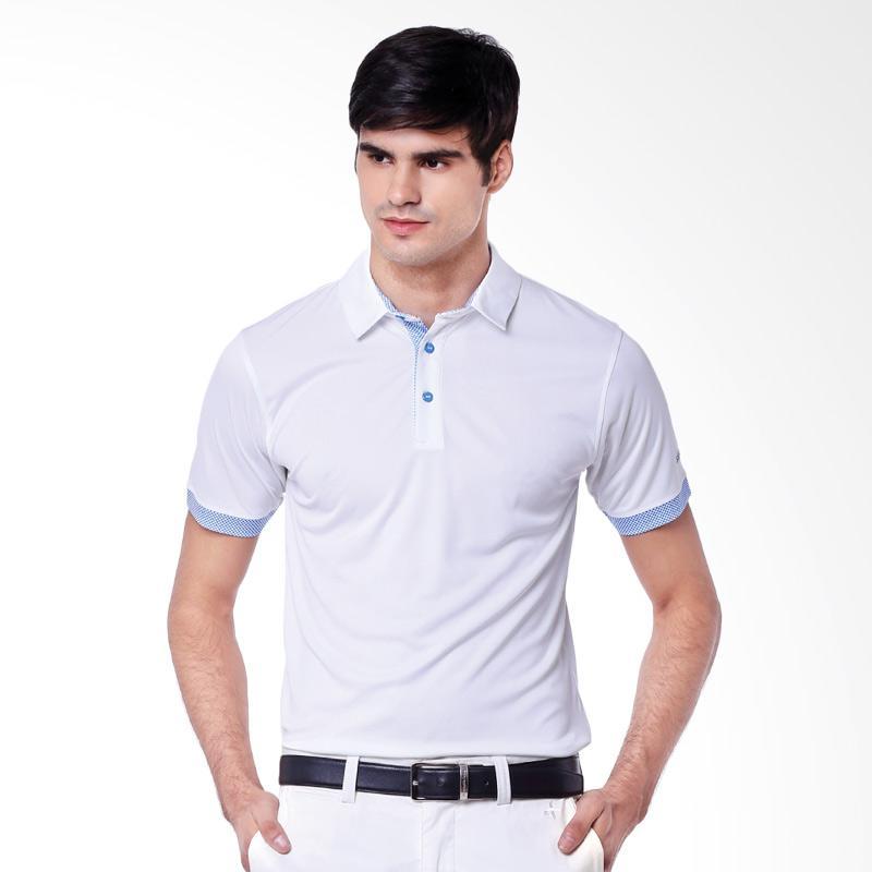 Svingolf Matrix Polo Baju Golf - White