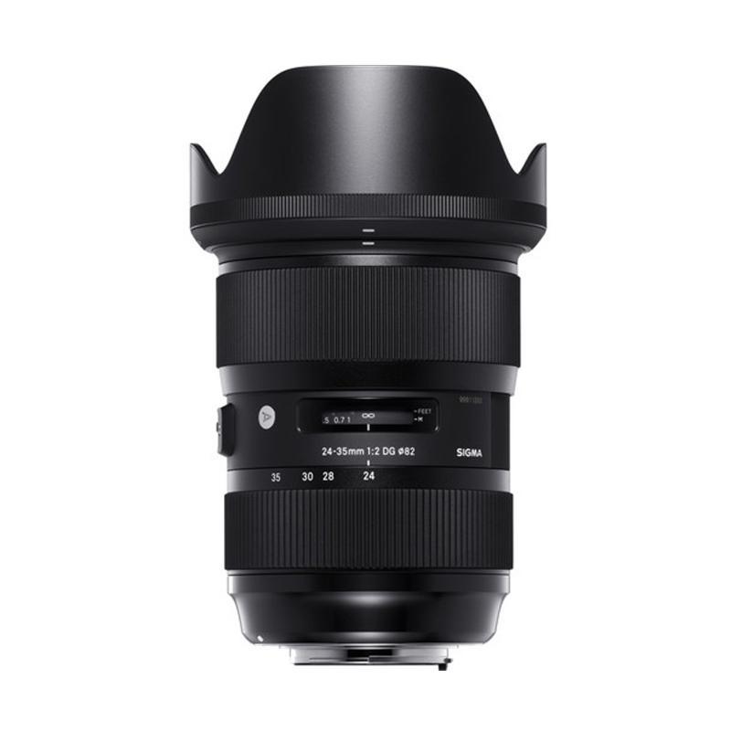Sigma Lens 24-35mm f/2 DG HSM (A) u/ Canon