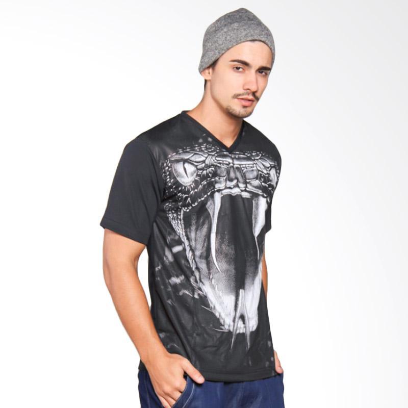 EpicMomo Snake1 T-Shirt - Black AD.00140