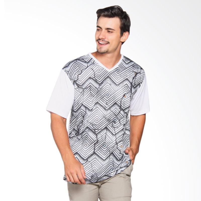 EpicMomo Pattern8 T-Shirt - White AD.00150
